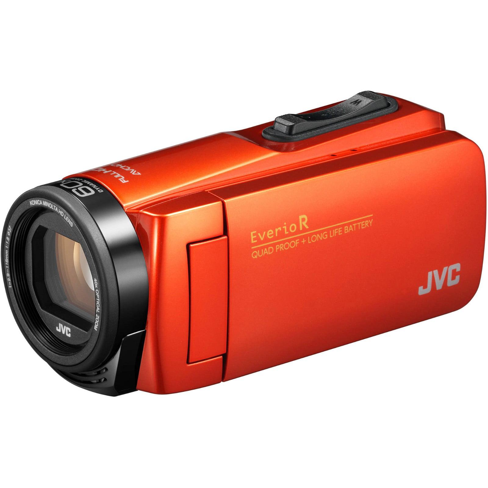 JVC Everio Quad Proof 1080p HD Video Camera Camcorder (Black)