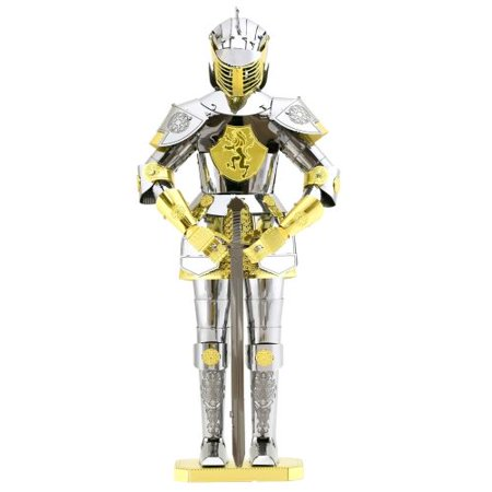 FASCINATIONS Europeon Knight Armor Metal Earth