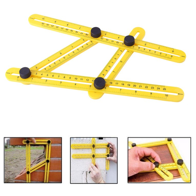 Multi Angle Ruler Multifuntional General Tools Angle Izer Template