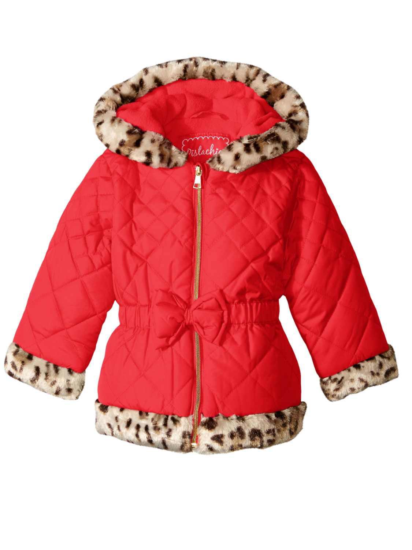 041d076955ca Pistachio - Pistachio Toddler   Little Girls Red Puffer Jacket ...