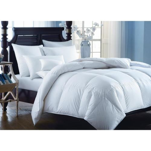 European Heritage  Down Opulence Oversize Summer Weight White Goose Down Comforter
