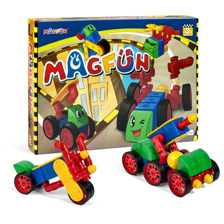 magnetic educational toys for kids magfun 50 pcs 3d building blocks toy set for 3 years old. Black Bedroom Furniture Sets. Home Design Ideas