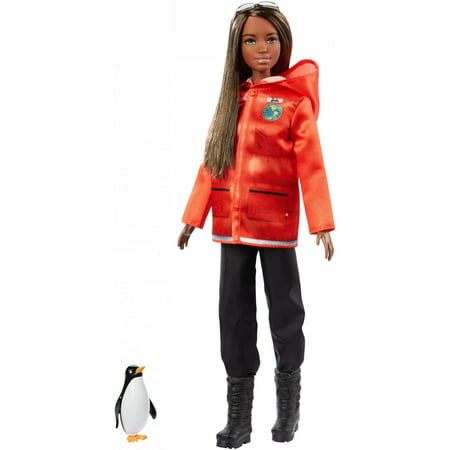 Barbie National Geographic Doll with Penguin