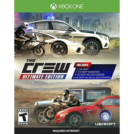 The Crew Ultimate Edition, Ubisoft, Xbox One, 887256024642