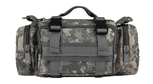 Ultimate Arms Gear ACU Army Digital Camo Camouflage 5 in 1 Tactical Modular Deployment Compact Utility Carry Bag MOLLE... by