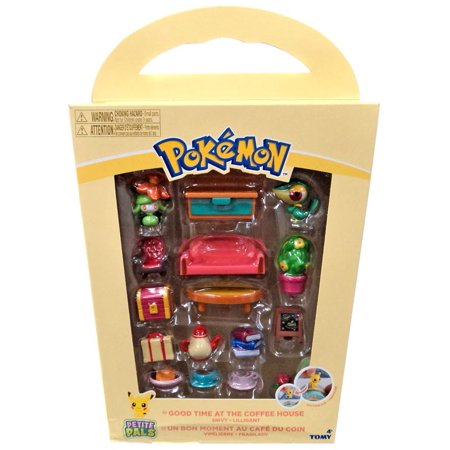 Pokemon Petite Pals Good Time at the Coffee House Playset [Snivy & Lilligant]
