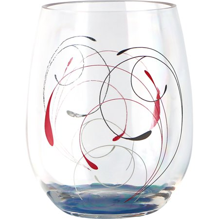 Corelle Coordinates Splendor, 16oz Acrylic Wine Glass Set of 4 - Halloween Wine Glass Ideas