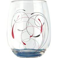 Corelle Coordinates Splendor, 16oz Acrylic Wine Glass Set of 4