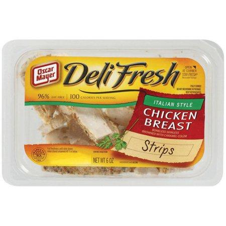 Calories in Oscar Mayer Chicken Breast