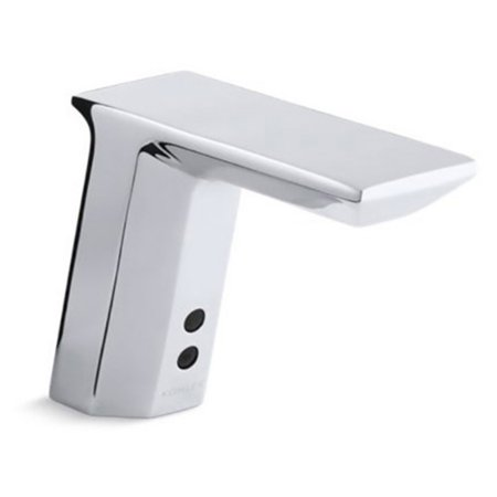 Kohler Geometric K13467-CP Touchless DC Powered Bathroom Sink Faucet
