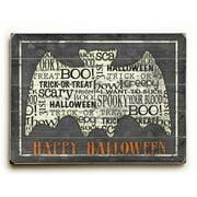 Artehouse LLC Happy Halloween Bat Wall D cor