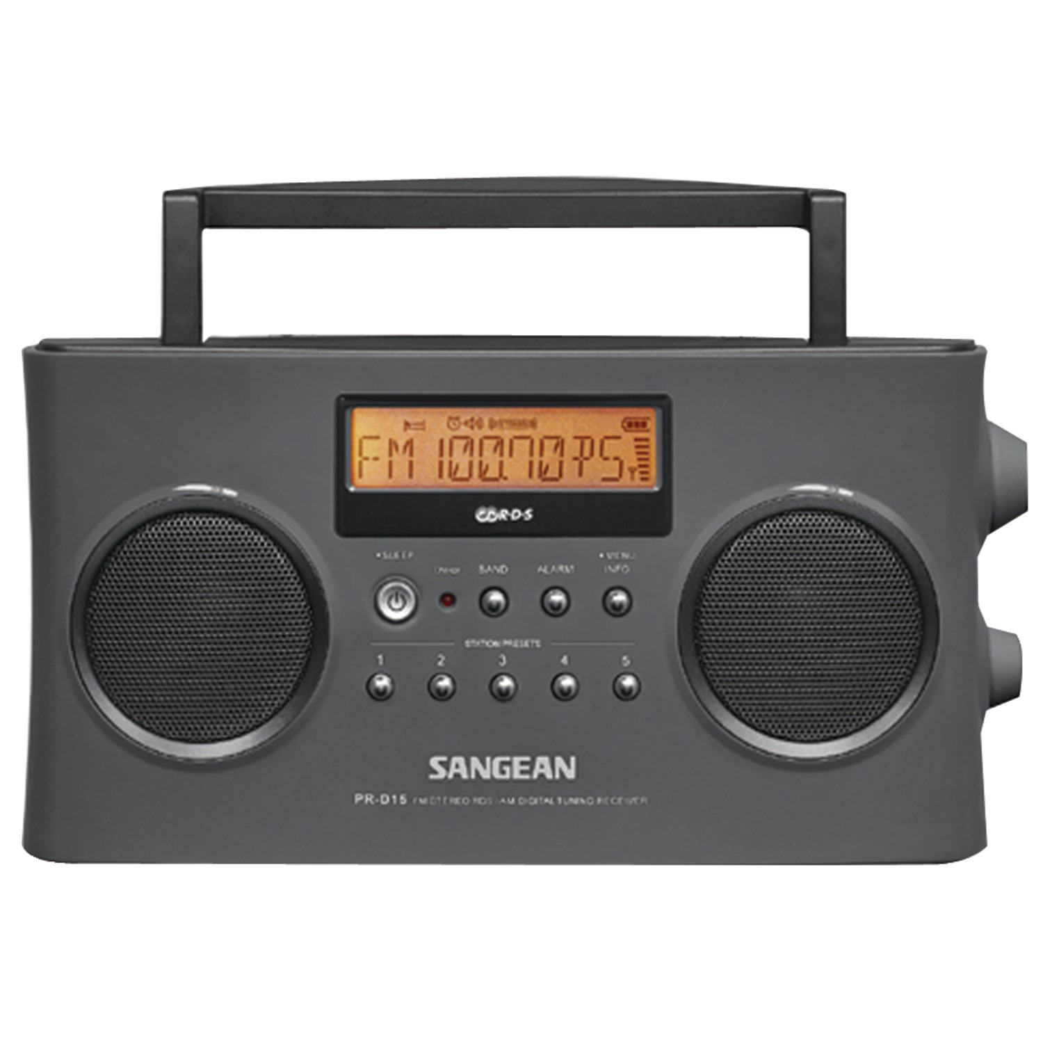 Sangean PR-D15 Digital Portable Stereo RDS Receiver