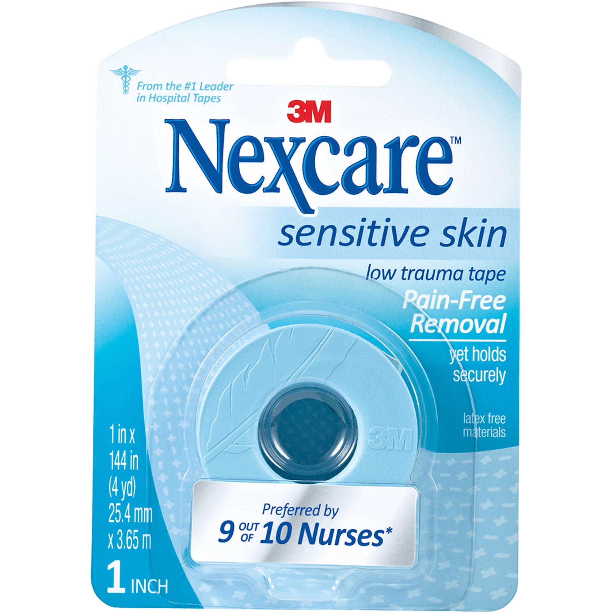 Nexcare Sensitive Skin Low Trauma Tape