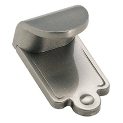Inspirations 1-7/8 in (48 mm) Length Satin Nickel Cabinet Finger Pull