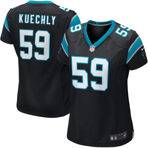 Luke Kuechly Carolina Panthers Nike Women's Game Jersey - Black