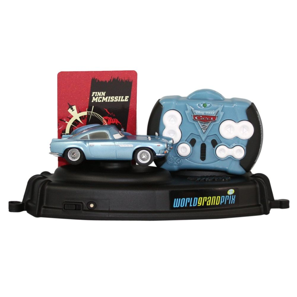 Disney   Pixar Cars 2 Movie Air Hogs Lights & Sounds Finn McMissle R C Vehicle by