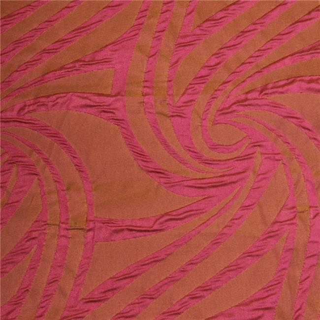 Vortex Decorative Fabric - Flamingo, 25 yards