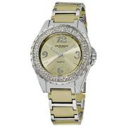 Women's Quartz Water-Resistant Mineral-Crystal Ceramic Bracelet Watch