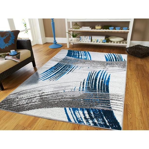 Blue Living Room Rugs 8x10