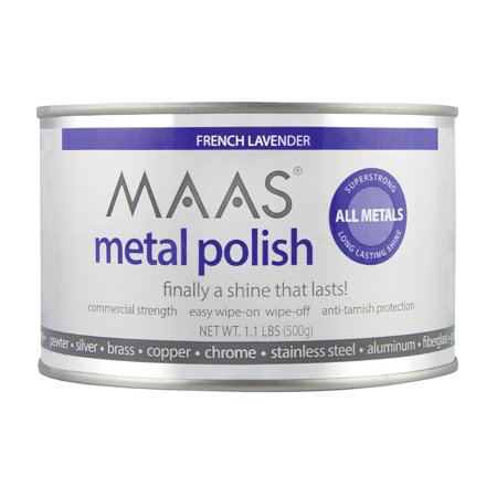 Maas Metal Cleaner (MAAS Metal Polish 1.1 Lb. Can )