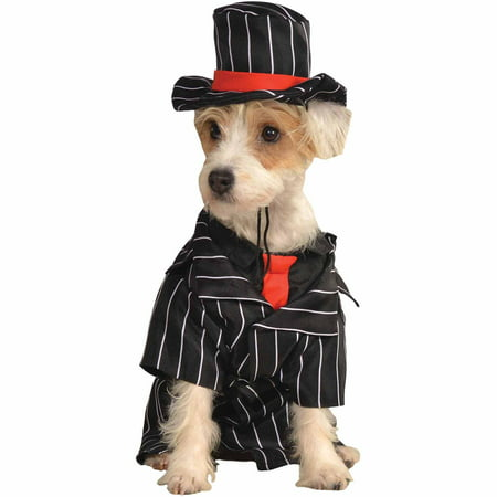 Mob Dog Halloween Pet Costume (Multiple Sizes - Halloween Costumes For Large Dogs 2017