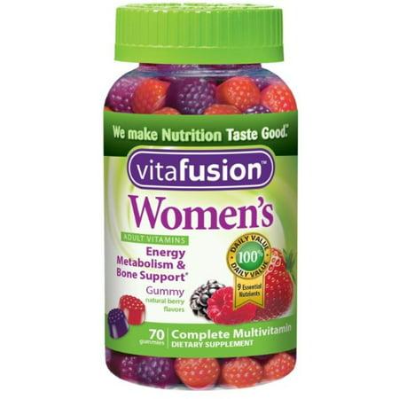 Mix Gummy - 6 Pack - Vitafusion Women's Gummy Vitamins Mixed Berries 70 ea