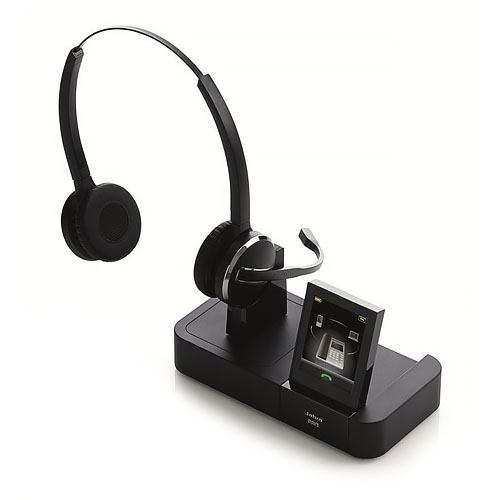 Jabra PRO 9465 Duo Wireless Headset - Comparable to Plant...