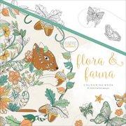 """KaiserColour Perfect Bound Coloring Book 9.75""""X9.75""""-Flora & Fauna"""