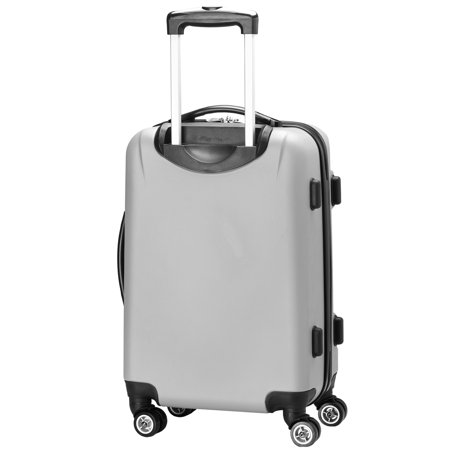 NFL New Orleans Saints Mojo Hardcase Spinner Suitcase - Silver