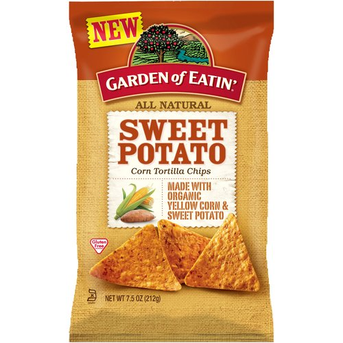 Garden of Eatin' Sweet Potato Corn Tortilla Chips, 7.5 oz