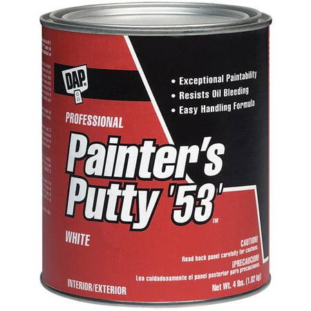 Dap 12244 1-Quart All Purpose Painter's Putty Interior/Exterior Multi Purpose Putty