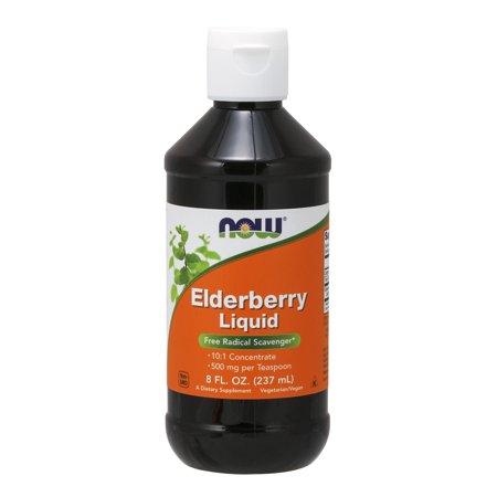 NOW Supplements, Elderberry Liquid, 8-Ounce
