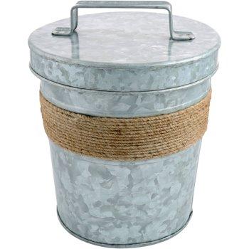 Cambridge Shiloh Galvanized 3 Qt. Ice Bucket