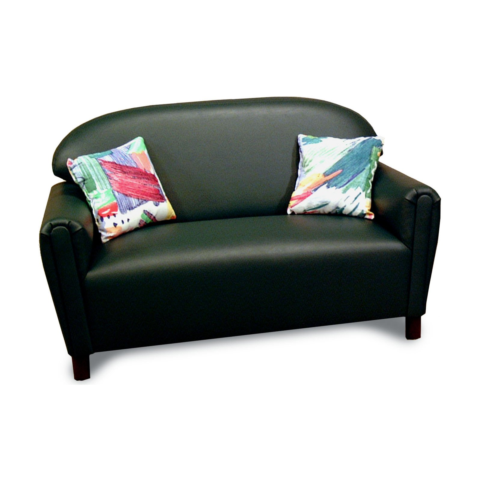 Brand New World Vinyl Upholstered School Age Sofa by Brand New World