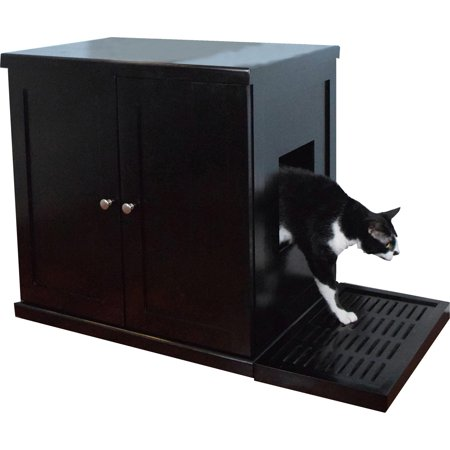 The Refined Feline Litter Box (Litter Box Cabinet)