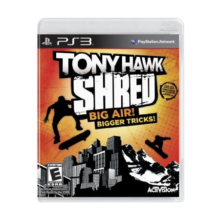 Tony Hawk: Shred (sw), Activision Blizzard, PlayStation 3,