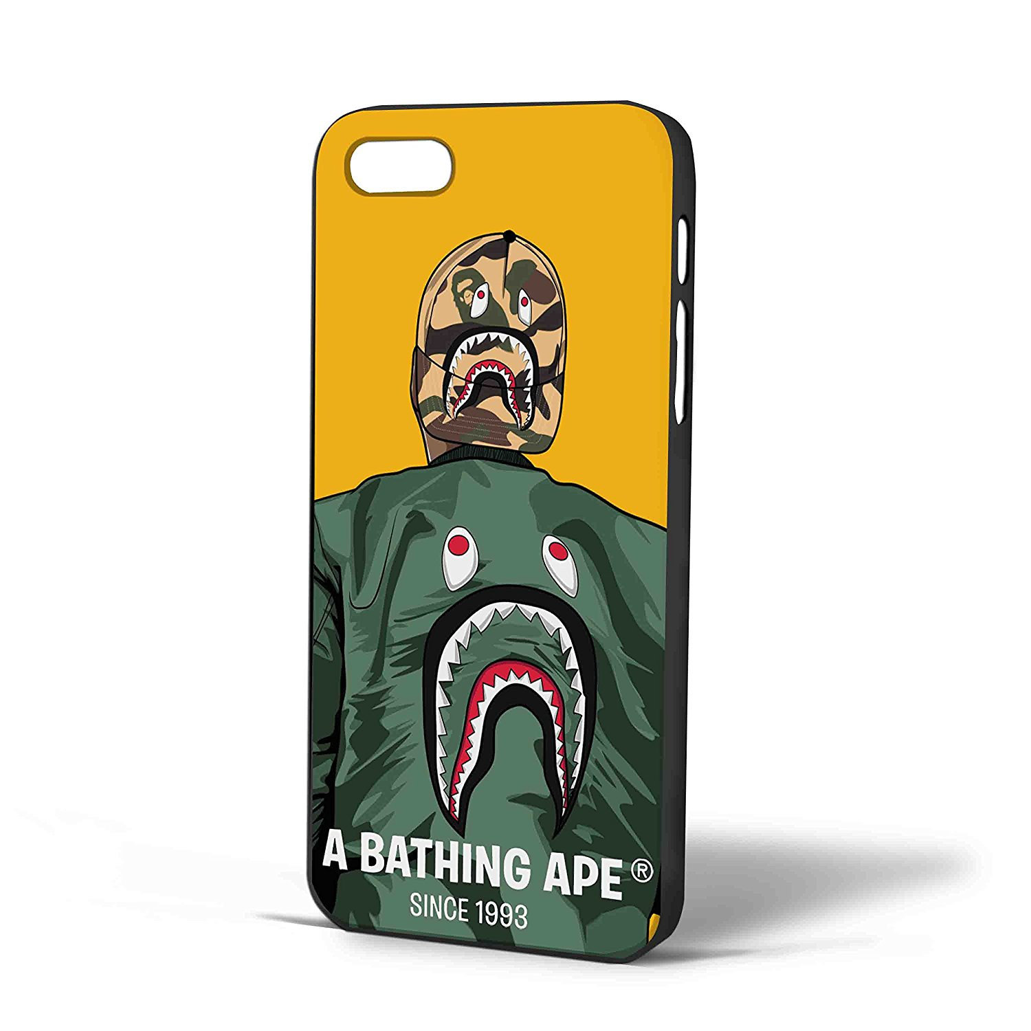 Ganma A Bathing Ape Jacket Case For iPhone Case (Case For iPhone 6s White)