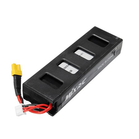 MJX Bugs 3 LiPo rcquadcopterpart Battery 7.4V 2S 25C 1800mAh Replacement Spare Parts for RC Drone Quadcopter