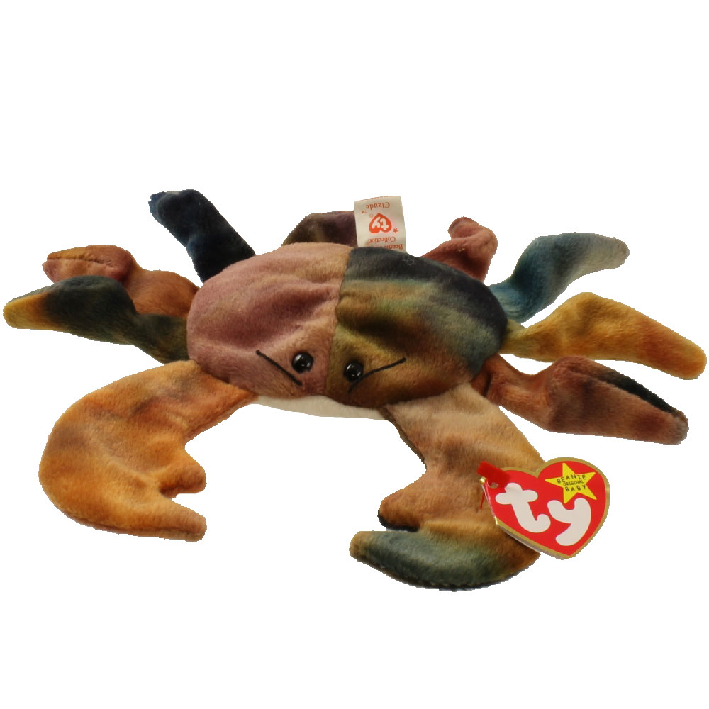 TY Beanie Baby - CLAUDE the Crab (7.5 inch) - Walmart.com 647453ca0c5