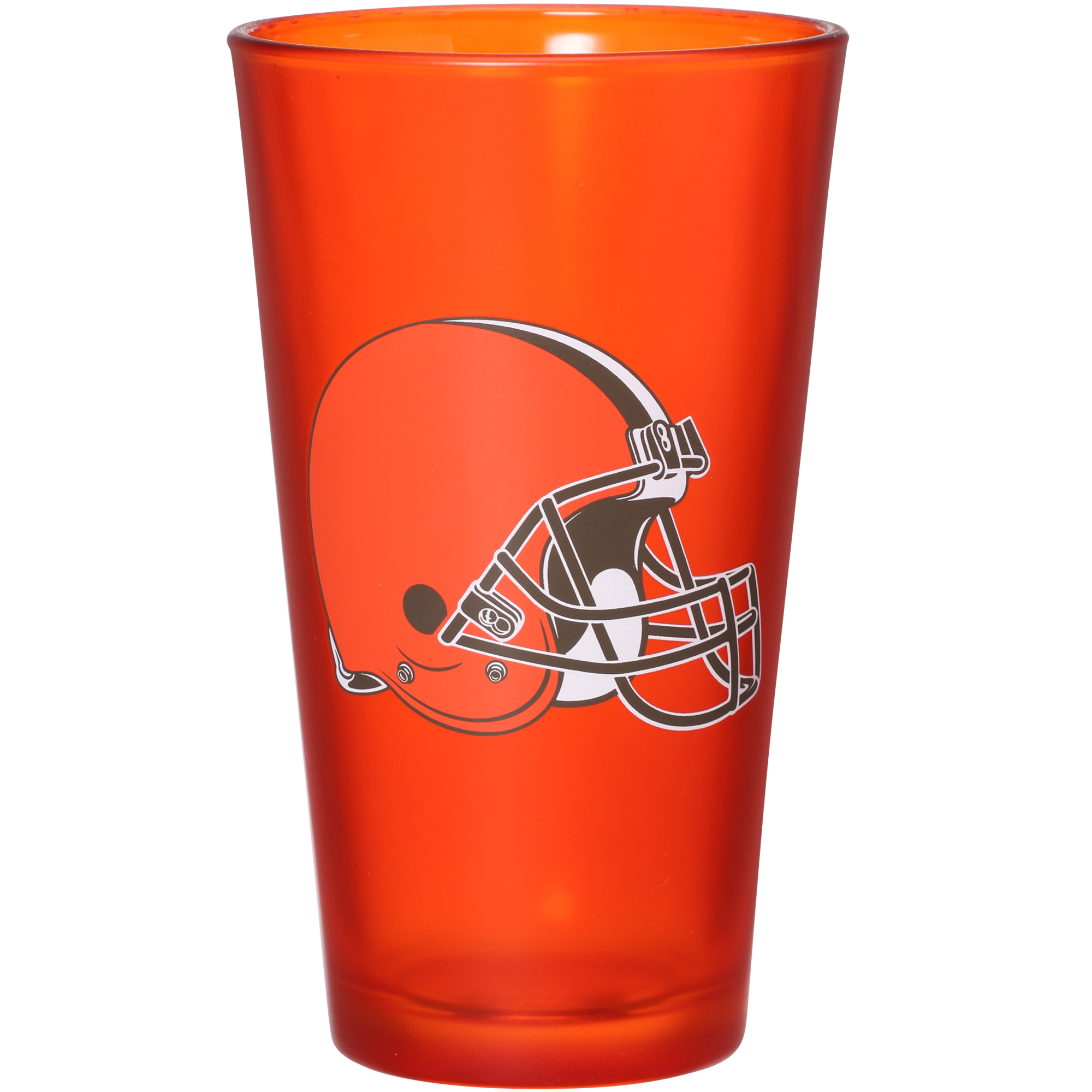 Cleveland Browns 16 oz. Team Color Frosted Pint Glass - No Size