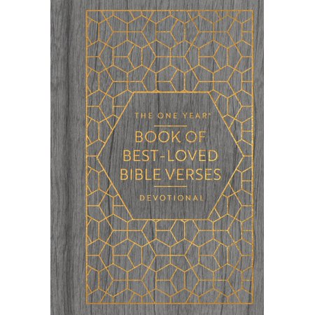 The One Year Book of Best-Loved Bible Verses Devotional -