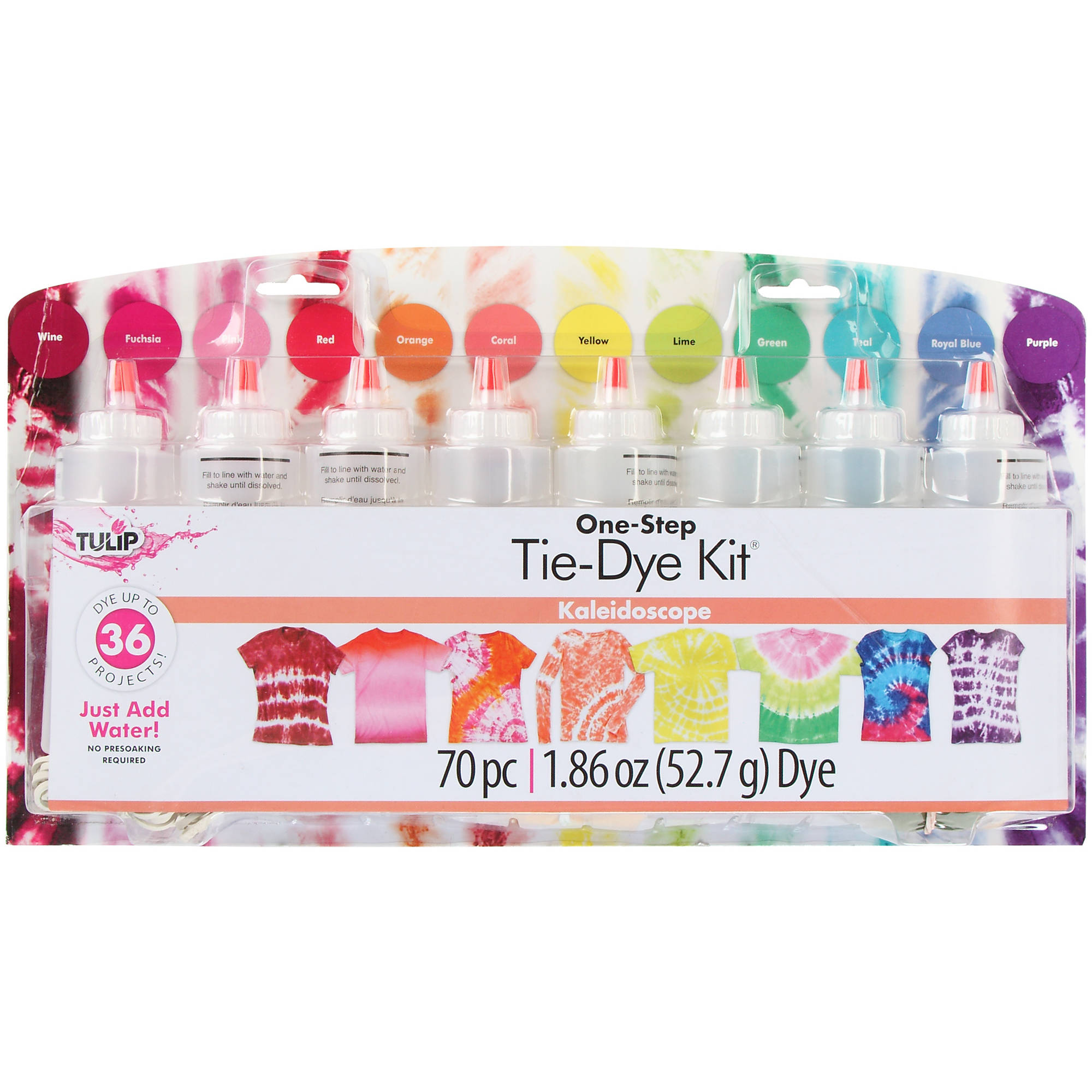 Tulip Large Kaleidoscope Tie Dye Kit, 1 Each