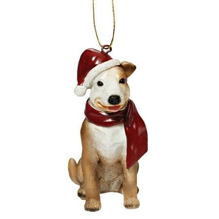 Design Toscano Pitbull Holiday Dog Ornament Sculpture (Pit Bull Ornaments)
