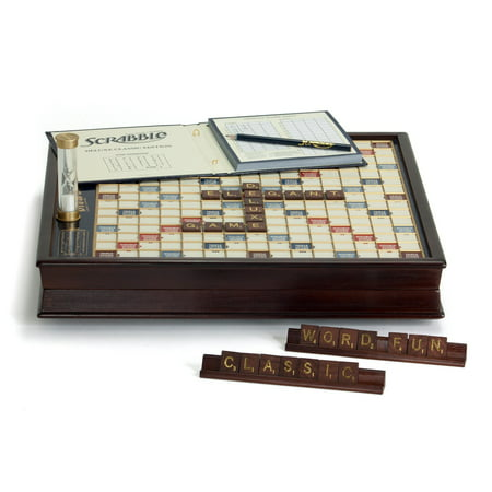 Winning Solutions Scrabble Game Deluxe Wooden