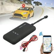 GPS Tracker, Mini Portable Vehicle GPS Tracker Real Time GPS Tracking Motorcycle Car Bike Antitheft