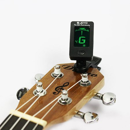 Chromatic Clip-On Tuner for Acoustic Guitar Violin Ukulele Ornate (Best Tuner For 7.3 Powerstroke)