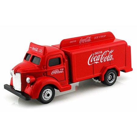 1947 BottleTruck, Red - Motor City Coca-Cola 440537 - 1/87 scale Diecast Model Toy Cars