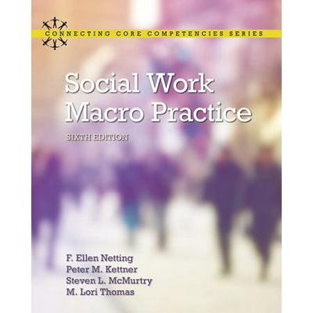 Social Work Macro Practice (Social Work Best Practices)
