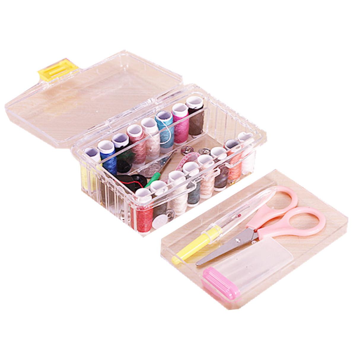 Meigar Sewing Kits Repair Travel Case Thread Threader Needle Tape ...