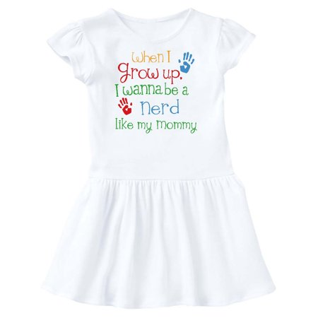 Nerd like Mommy Toddler Dress